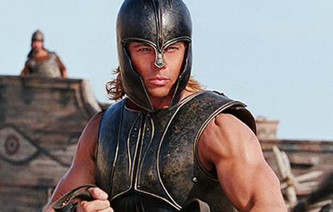 Brad Pitt Troja