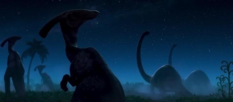 "Teaser animacji ""Dobry dinozaur"""