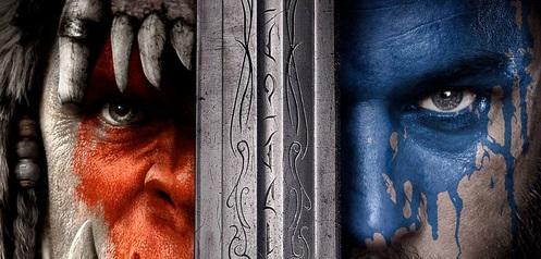 "Plakat filmu ""Warcraft"""