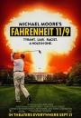 Fahrenheit 11/9 - plakat