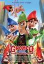 Gnomeo i Julia. Tajemnica zaginionych krasnali - plakat