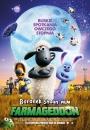 Baranek Shaun Film. Farmageddon - plakat